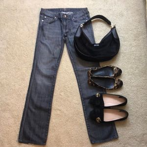 7 for all mankind Denim Jeans Kate Pants Sz 28